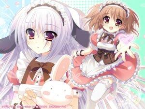 Rating: Safe Score: 24 Tags: animal_ears higa_yukari inumimi ooba_maya_(tsukumonotsuki) sugar_pot thighhighs tsukumo_(tsukumonotsuki) tsukumonotsuki waitress wallpaper User: fairyren