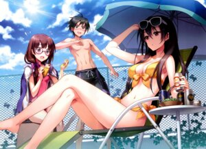 Rating: Questionable Score: 114 Tags: an2a bikini cleavage erect_nipples megane swimsuits User: Radioactive