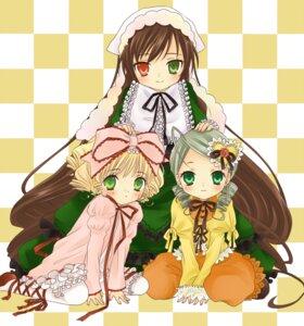 Rating: Safe Score: 9 Tags: bloomers hanabana_tsubomi heterochromia hina_ichigo kanaria lolita_fashion rozen_maiden suiseiseki User: charunetra
