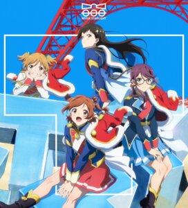 Rating: Safe Score: 14 Tags: aijou_karen daiba_nana disc_cover hoshimi_junna kagura_hikari megane shoujo_kageki_revue_starlight tagme uniform User: saemonnokami