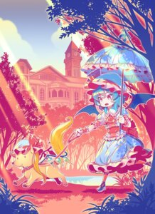 Rating: Safe Score: 18 Tags: flandre_scarlet heels landscape remilia_scarlet touhou zounose User: Minacle