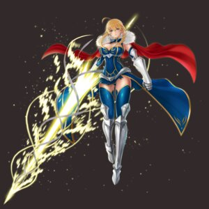 Rating: Questionable Score: 40 Tags: armor artoria_pendragon_(lancer) cleavage fate/grand_order heels hellma123 thighhighs weapon User: mash