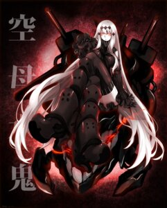 Rating: Safe Score: 16 Tags: aircraft_carrier_water_oni al_chiaki heels kantai_collection thighhighs User: Mr_GT