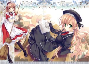 Rating: Safe Score: 37 Tags: akebi_yusa canvas_3 fortune_arterial gap lycée maid tatekawa_mako wnb yuuki_haruna User: admin2