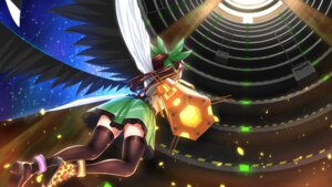 Rating: Safe Score: 18 Tags: damao_yu heels reiuji_utsuho thighhighs touhou User: Nepcoheart