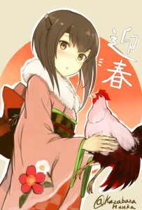 Rating: Safe Score: 24 Tags: kantai_collection kazabana_fuuka kimono taihou_(kancolle) User: fairyren