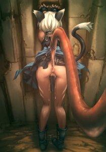 Rating: Explicit Score: 42 Tags: anal animal_ears ass cum dress extreme_content hitomaru loli nekomimi nopan pussy skirt_lift tail tentacles uncensored User: Nico-NicoO.M.