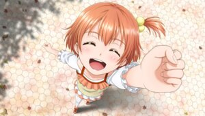 Rating: Safe Score: 20 Tags: hoshizora_rin love_live! shisyamo_love thighhighs wallpaper User: RyuZU