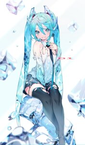 Rating: Questionable Score: 25 Tags: bukurote hatsune_miku heels no_bra thighhighs torn_clothes vocaloid User: BattlequeenYume