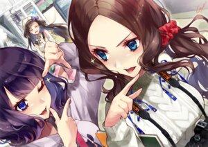Rating: Safe Score: 29 Tags: fate/grand_order katsushika_hokusai_(fate/grand_order) leonardo_da_vinci_(fate/grand_order) osakabe-hime_(fate/grand_order) sweater tagme User: BattlequeenYume