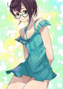 Rating: Safe Score: 18 Tags: dress kanmiya_shinobu kantai_collection megane okinami_(kancolle) User: charunetra