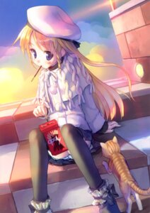 Rating: Safe Score: 37 Tags: kogemashita neko takoyaki thighhighs User: fireattack