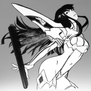 Rating: Safe Score: 8 Tags: bodysuit ilya_kuvshinov kill_la_kill kiryuuin_satsuki monochrome User: Radioactive