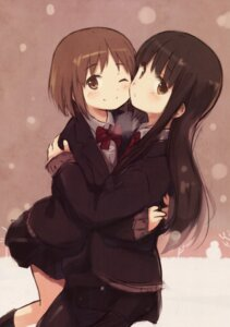 Rating: Safe Score: 34 Tags: kyuri pantyhose seifuku yuri User: 麻里子