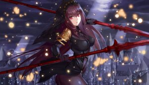 Rating: Safe Score: 51 Tags: armor ass bodysuit fate/grand_order fuyutsuji scathach_(fate/grand_order) thighhighs weapon User: mash