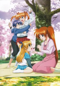Rating: Safe Score: 10 Tags: heterochromia mahou_shoujo_lyrical_nanoha mahou_shoujo_lyrical_nanoha_strikers subaru_nakajima takamachi_nanoha teana_lanster vivio User: daemonaf2