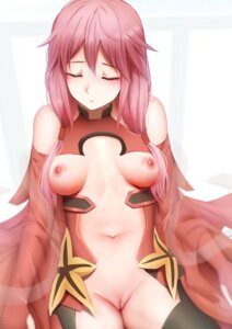Rating: Explicit Score: 58 Tags: breasts ginhaha guilty_crown leotard no_bra nopan pussy stockings thighhighs uncensored yuzuriha_inori User: Arsy