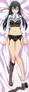 Rating: Questionable Score: 75 Tags: bra cleavage dakimakura garter_belt lingerie pantsu shirt_lift tagme thighhighs yahari_ore_no_seishun_lovecome_wa_machigatteiru. yukinoshita_yukino User: DDD