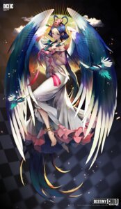 Rating: Safe Score: 34 Tags: destiny_child dress see_through wings yuri_(anachronic) User: Mr_GT
