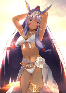 Rating: Safe Score: 27 Tags: animal_ears bikini bunny_ears fate/grand_order garter nitocris_(fate/grand_order) see_through swimsuits sylux tattoo underboob User: charunetra