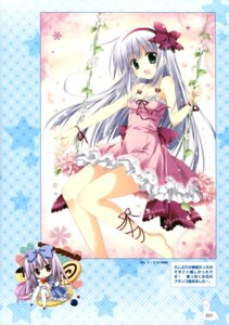 Rating: Safe Score: 43 Tags: airi_(alice_or_alice) alice_or_alice_siscon_nii-san_to_futago_no_imouto chibi cleavage dress feet korie_riko rise_(alice_or_alice) summer_dress thighhighs User: Twinsenzw
