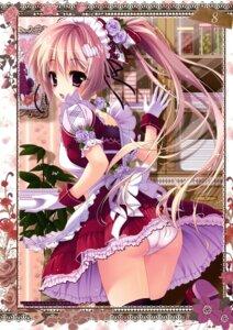 Rating: Questionable Score: 55 Tags: ame_zaiku ass cameltoe maid pantsu shiramori_yuse thighhighs User: Hatsukoi