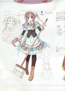 Rating: Safe Score: 2 Tags: character_design ko~cha nina_lindberg shukufuku_no_campanella sketch User: admin2