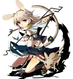 Rating: Safe Score: 40 Tags: animal_ears bunny_ears fumiko_(miruyuana) nazrin tail touhou User: mahoru