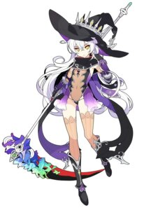 Rating: Safe Score: 47 Tags: hilda_(stella_glow) ideolo leotard see_through sega stella_glow thighhighs weapon witch User: Kae