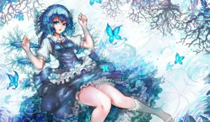 Rating: Safe Score: 21 Tags: cirno feet kiyomasa_ren maid touhou wet User: KazukiNanako