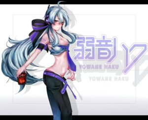 Rating: Safe Score: 12 Tags: cleavage headphones pantsu quasi vocaloid yowane_haku User: santos-san