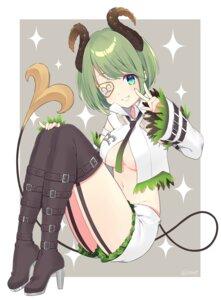 Rating: Safe Score: 19 Tags: eyepatch heels honey_strap horns sekishiro_mico shizuku_(s1zu9) tail User: Mr_GT
