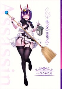 Rating: Safe Score: 34 Tags: fate/grand_order maid shuten_douji_(fate/grand_order) yang-do User: Saturn_V