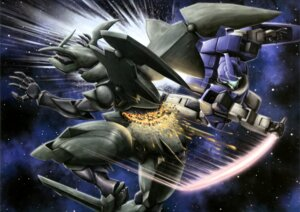 Rating: Safe Score: 3 Tags: gundam gundam_age mecha sword weapon wings User: drop