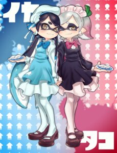 Rating: Safe Score: 23 Tags: aori_(splatoon) hotaru_(splatoon) maid pantyhose pointy_ears puchiman splatoon User: Mr_GT