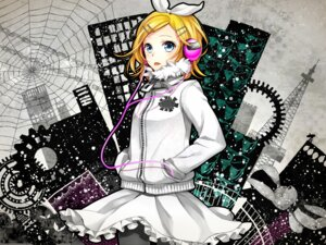 Rating: Safe Score: 12 Tags: headphones kagamine_rin pantyhose vocaloid wallpaper yunco User: animeprincess