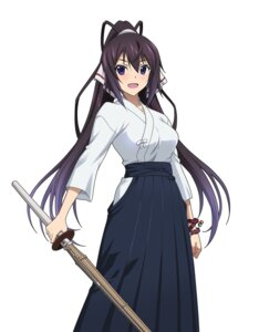 Rating: Safe Score: 30 Tags: infinite_stratos japanese_clothes shinonono_houki sword User: saemonnokami