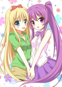 Rating: Safe Score: 23 Tags: endori sugiura_ayano toshinou_kyouko yuru_yuri User: 椎名深夏