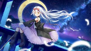 Rating: Safe Score: 22 Tags: dress heels hoshizora_no_memoria ji_dao_ji mare_s_ephemeral wallpaper weapon User: Mr_GT