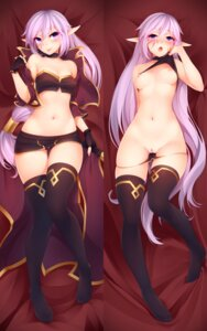 Rating: Explicit Score: 71 Tags: breasts cleavage dakimakura kerasu nipples no_bra pantsu panty_pull pointy_ears pubic_hair pussy pussy_juice shirt_lift thighhighs User: Mr_GT