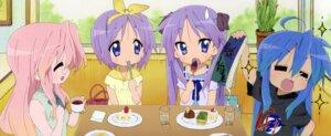 Rating: Safe Score: 18 Tags: hiiragi_kagami hiiragi_tsukasa izumi_konata lucky_star takara_miyuki User: kyoushiro
