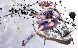 Rating: Safe Score: 12 Tags: kimono onozuka_komachi shiroi_karasu touhou wallpaper weapon User: Radioactive
