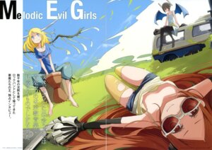 Rating: Questionable Score: 29 Tags: chroma_of_wall gap horns pantyhose saitom thighhighs User: blooregardo