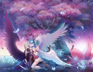 Rating: Safe Score: 16 Tags: aion tama-chann wings User: charunetra