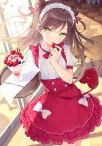 Rating: Safe Score: 107 Tags: maid miyamoto_sakura miyamoto_sakura_ga_kawaii_dake_no_shousetsu. rurudo waitress User: RICO740