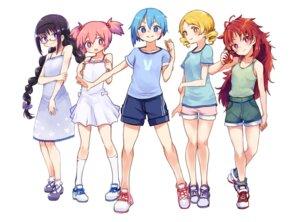 Rating: Safe Score: 17 Tags: akemi_homura dress kaname_madoka megane miki_sayaka puella_magi_madoka_magica sakura_kyouko summer_dress tagme tomoe_mami User: Spidey