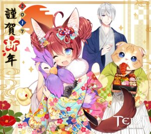 Rating: Safe Score: 21 Tags: animal_ears byulzzi_mon elin japanese_clothes kimono pointy_ears tail tera_online User: Mr_GT