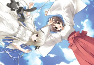 Rating: Safe Score: 18 Tags: amatsume_akira dress hashimoto_takashi kasugano_sora miko possible_duplicate sphere yosuga_no_sora User: Radioactive