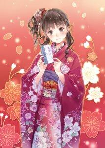 Rating: Safe Score: 53 Tags: digital_version kimono kishida_mel User: blooregardo