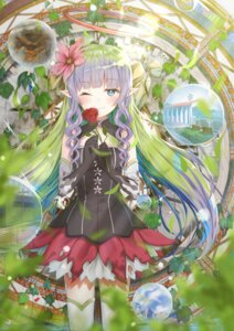 Rating: Safe Score: 39 Tags: ames_(princess_connect) dress iston pointy_ears princess_connect princess_connect!_re:dive thighhighs User: sym455